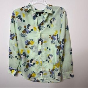 Banana Republic Dillion Floral Button Down Shirt